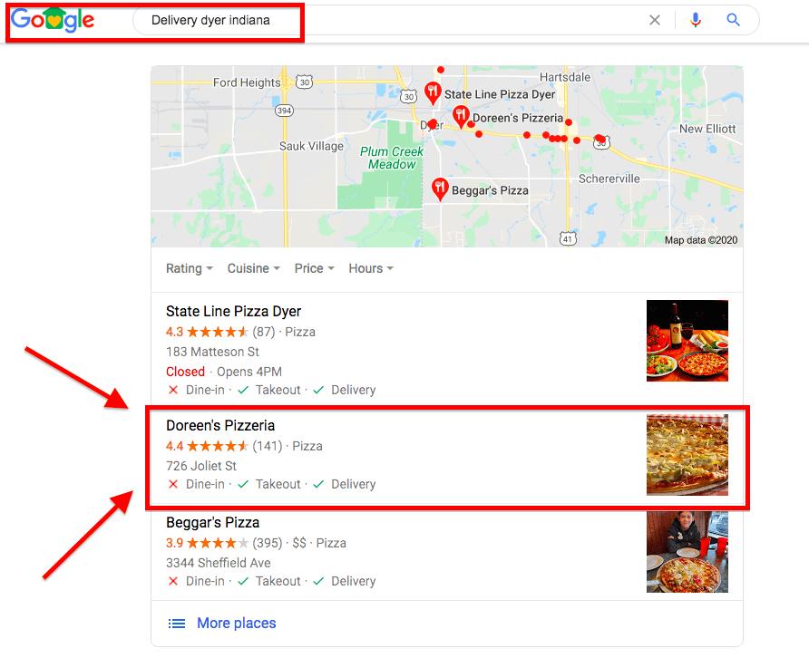 Google Search Engine Optimization Ranking #2