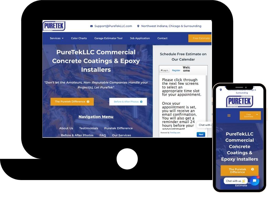 Web Design Asheville Puretek